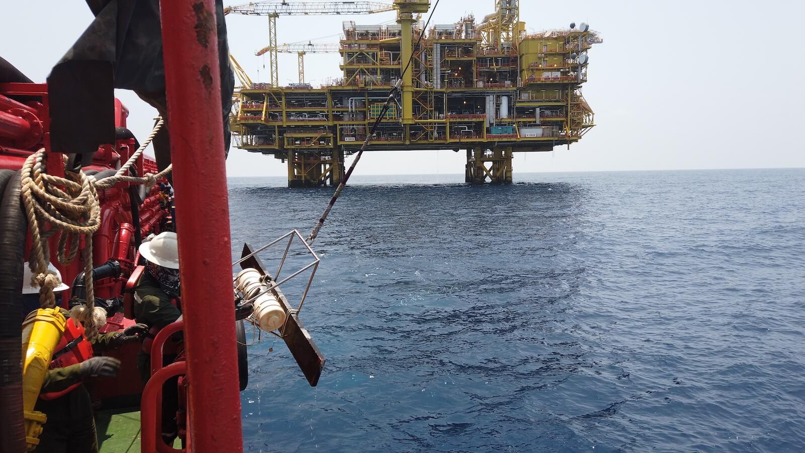 Environmental Monitoring Kebabangan Petroleum Operating Company Marine Research Foundation